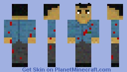Black Ops 2 Salvatore Sal DeLuca Minecraft Skin