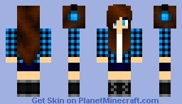 Teenage Girl Minecraft Skin