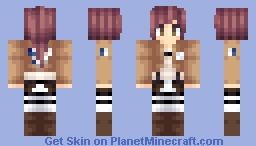 Sasha Braus aka Potato Girl from Attack on Titan Minecraft