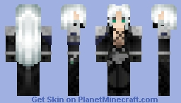 Sephiroth [Final Fantasy VII Dissidia Version] (3D 1.8 Skin) / BETTER IN 3D / Minecraft