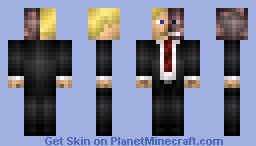 Harvey Dent / Two-Face  (The Dark Knight) Minecraft Skin