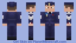 Air Cadet Minecraft Skin