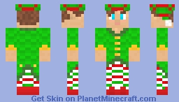 Quality Control Elf Minecraft Skin