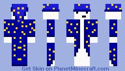 the Herp Derp Wizard Minecraft Skin