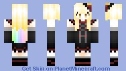 ♥Ⓒⓐⓣ♥ MAYU Vocaloid Minecraft Skin