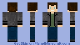 Ninth Doctor Minecraft Skin