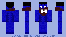 Raziel - LoK 128x64 and 32x64 Minecraft Skin
