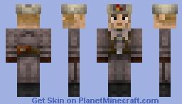 Russian Soldier (Winter GreatCoat) Minecraft Skin