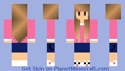Runner Girl Minecraft Skin