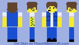 Snake Jailbird (The Simpsons) Minecraft Skin