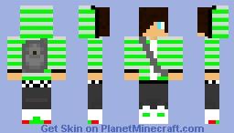 teenage boy with grey backpack SWAG (3) Minecraft Skin