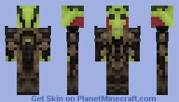 Mass Effect: Thane Minecraft Skin