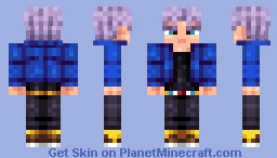 Trunks - DragonballZ Minecraft Skin