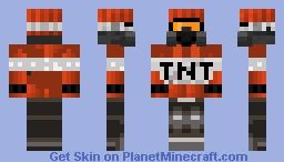 Boom! Goes the Dynamite. Minecraft Skin