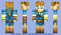 E Zelda Wii U Trailer Link Minecraft Skin - Skins para minecraft wii u