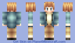 Young Armin Arlert - Attack on Titan Minecraft Skin