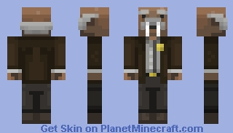 Sheriff Jebadia Walrus Minecraft Skin