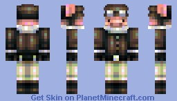Bacon Von Richthofen - When Pigs Fly - [For contest!] Minecraft Skin