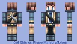 Vigilante Castiel [Distopian Heaven] Minecraft Skin