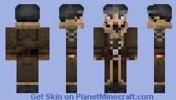 Post-Apocalyptic Alasken Officer (Fallout Server Skin) Minecraft Skin
