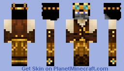 SkyShip Engineer (Reuploaded) - Above the clouds entree Minecraft Skin