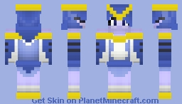 Blue Jay Harpie (Above the Clouds Contest Entry) Minecraft Skin
