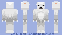 polarbear skin requested by gb1101 Minecraft Skin
