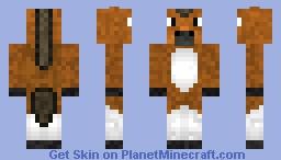 OMG its a horse Minecraft Skin