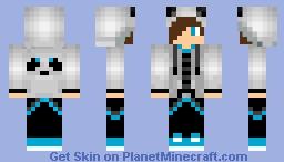 Panda Boy Skin Minecraft Skin