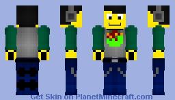 Lego DJ Minifigure Minecraft Skin