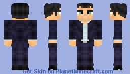 "Micheal De Santa (GTA V for the PC!... and ""next""-gen consoles!) Minecraft Skin"