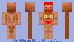 Smiley Naked Man Minecraft Skin