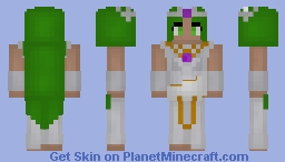Palutena Minecraft Skin