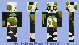 Pu Endar - God of the sky islands (above the Clouds skin contest) Minecraft