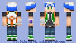 Pokemon Trainer Custom 1.8 Version Minecraft Skin