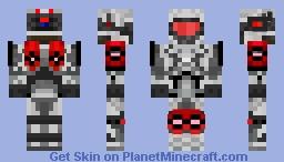 Fargris IND. - Tracker - Red Minecraft Skin