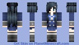 °lǝıɔ° Ciel Phantomhive Female [Personal skin] (First Pop Reel!)[Update 6/21/14  w/ new shading] Minecraft Skin