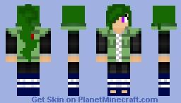 [Naruto] Female Chuunin! Minecraft Skin