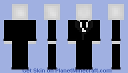 Slender from Creepy Pasta Minecraft Skin