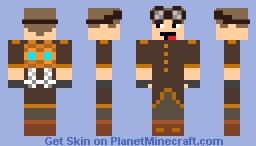 Steampunk Jetpack Engineer Minecraft