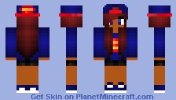 Super Girl Minecraft Skin