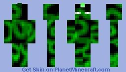 The Green One xD Minecraft Skin