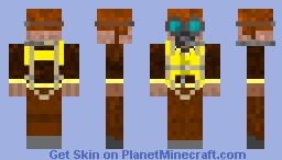 W.W.II airplane pilot Minecraft Skin