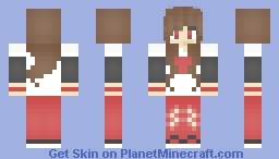 YouTube fangirl Minecraft Skin