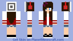 Teenage Gurll Minecraft Skin