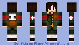 China | Hetalia-Allies Skin Series Minecraft