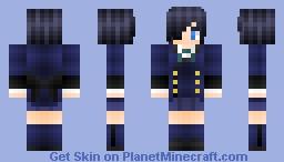 Ciel Phantomhive • Black Butler • Minecraft Skin