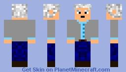 Richard Dawkins Minecraft Skin