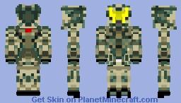 US Marine Minecraft