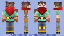 Adventuring Engineer Minecraft Skin
